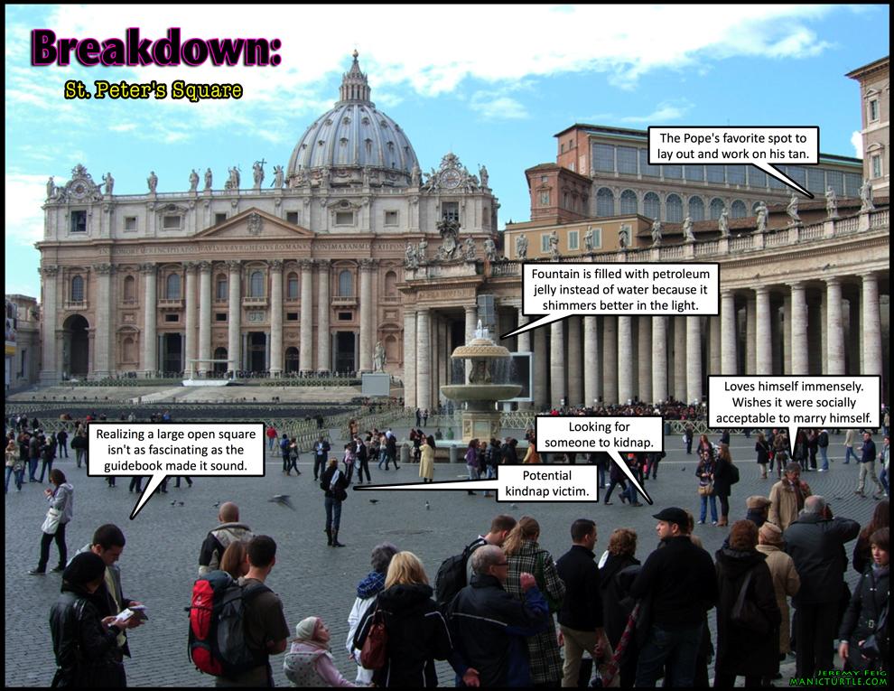 Breakdown: St. Peter's Square
