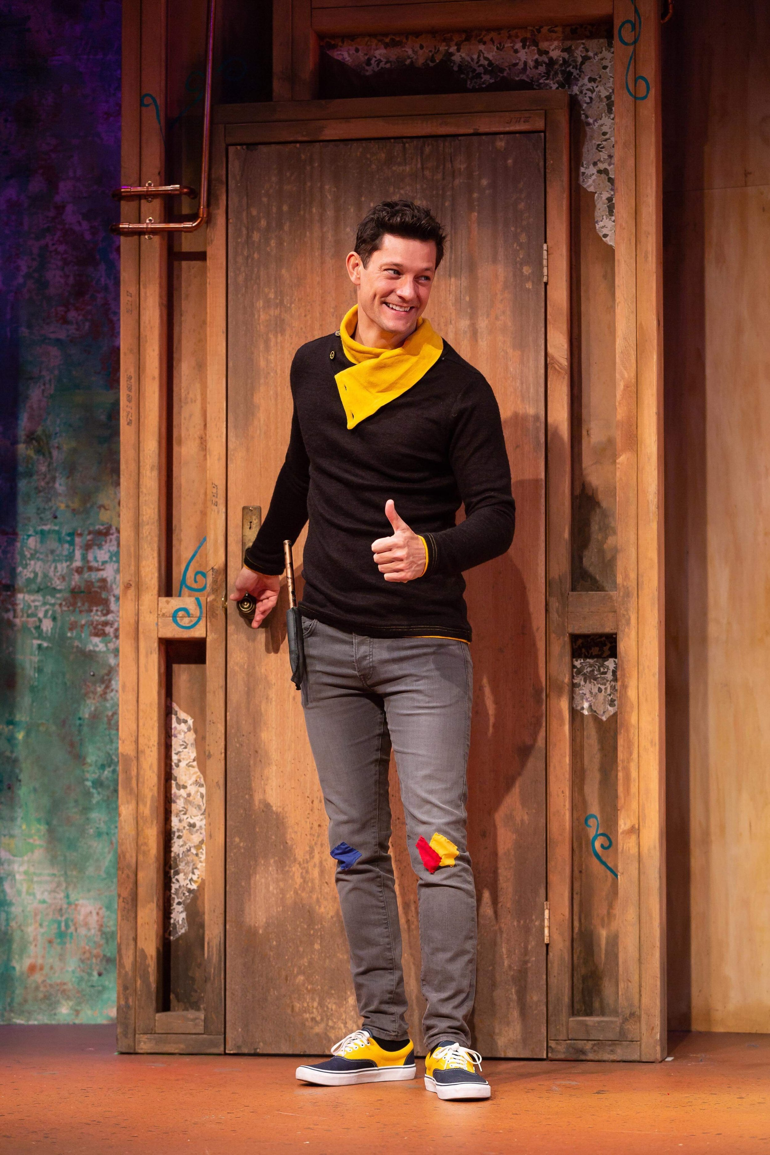 """""""...the biggest spell of all was cast by Rob Mills who proved he doesn't need to sing to smash a stage performance - Broadway World     """" Cedric, played with oodles of charming niceness by Rob Mills """" - Herald Sun    """" Rob Mills is the perfect Cedric for the play """" - Farrago Magazine"""