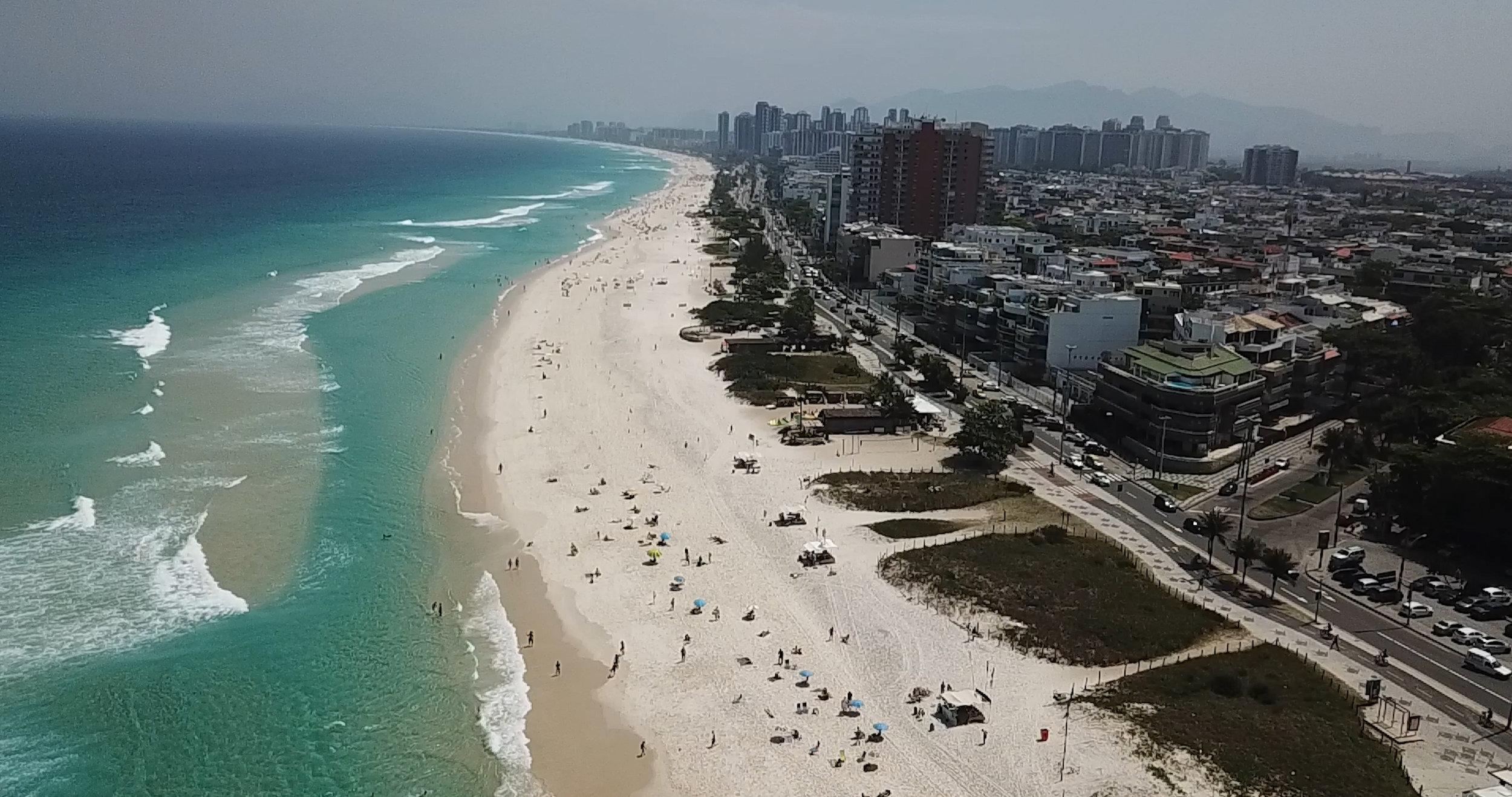 Rio de Janeiro, frame da gravação do projeto do Bob Burnquist.