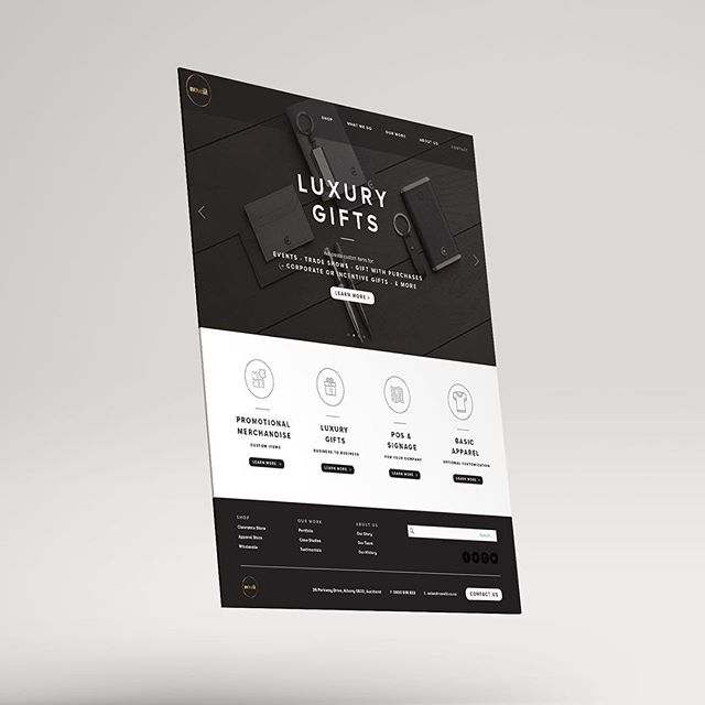 Website design for Novelli, a promotional brand agency.⠀ •⠀ •⠀ •⠀ •⠀ •⠀ •⠀ #websitedesign #graphicdesign #designspiration #digitaldesign #graphicdesignblg