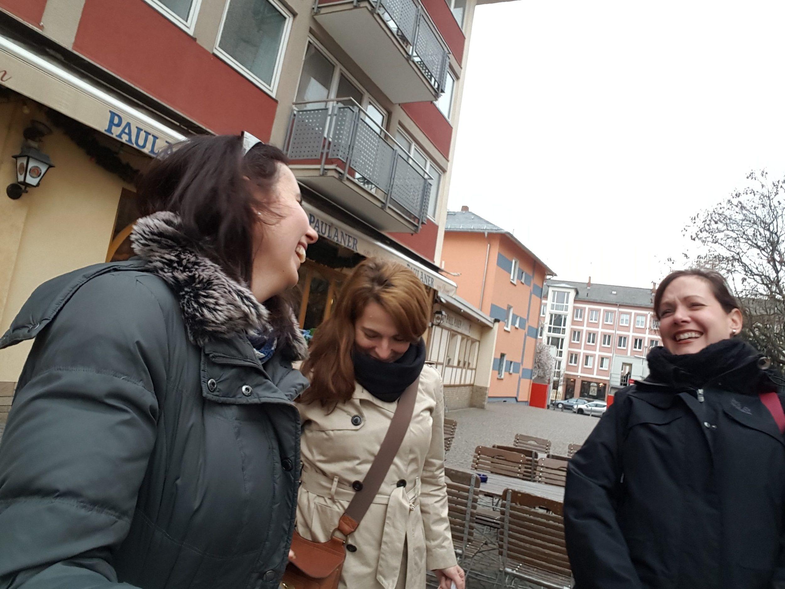 Friends, Frankfurt, Germany, April big things, expat living