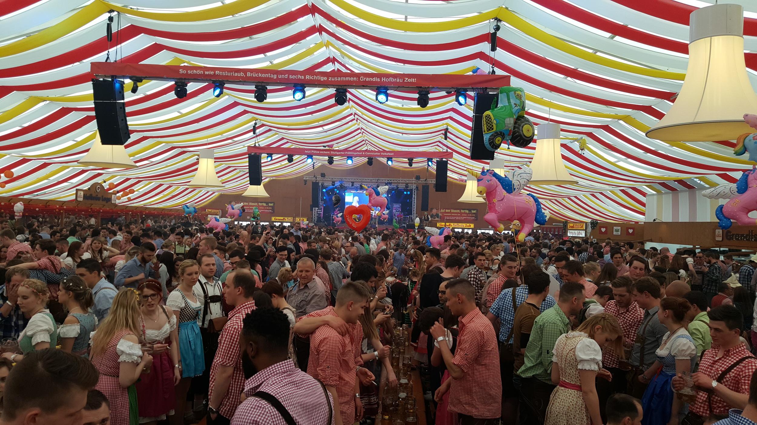 Stuttgart, spring festival, Cannstatter Wasen, April big things, expat living