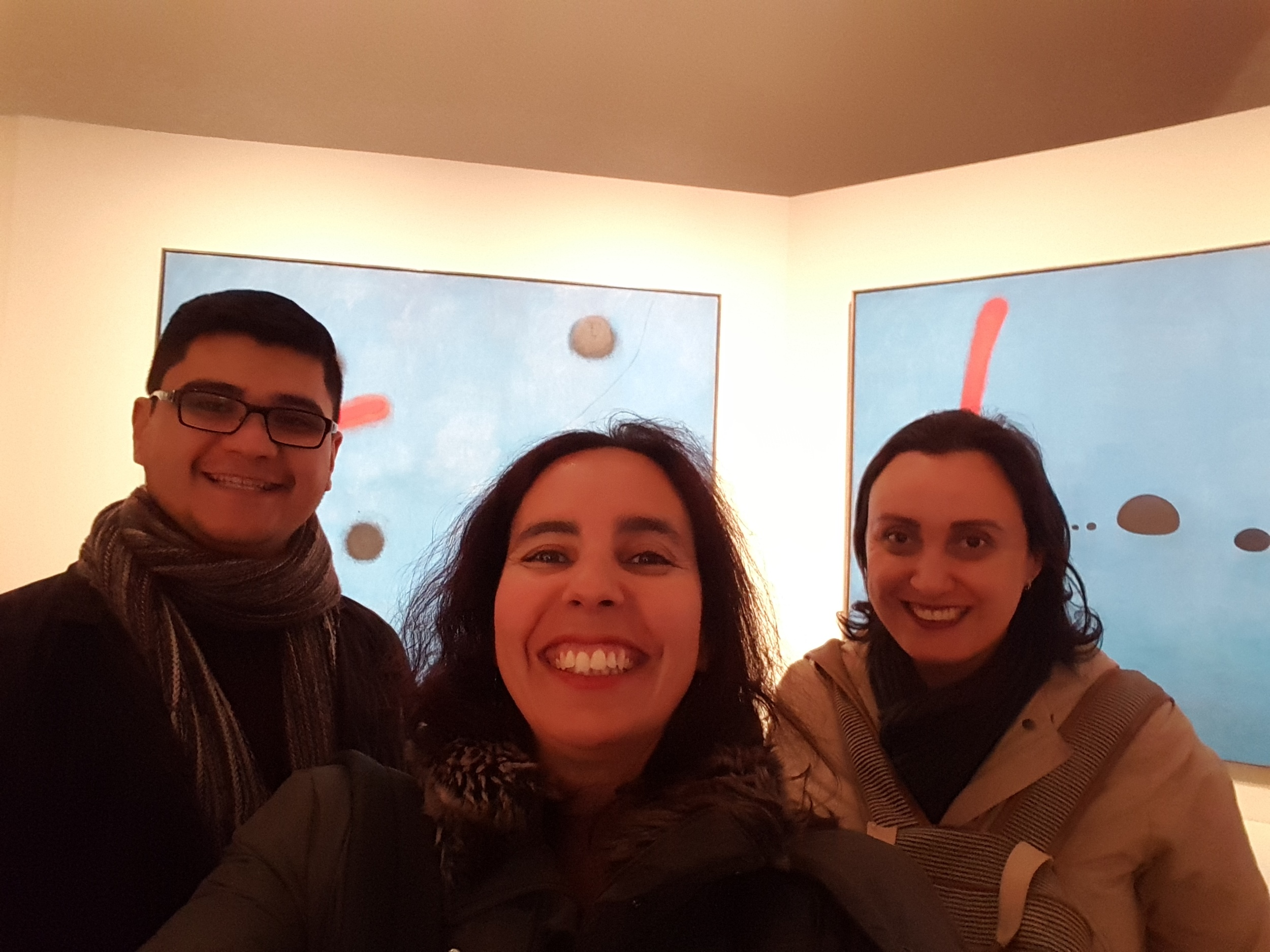 Frankfurt, Miro, Modern Art, Night at the Museum, April Big Things, Expat Living