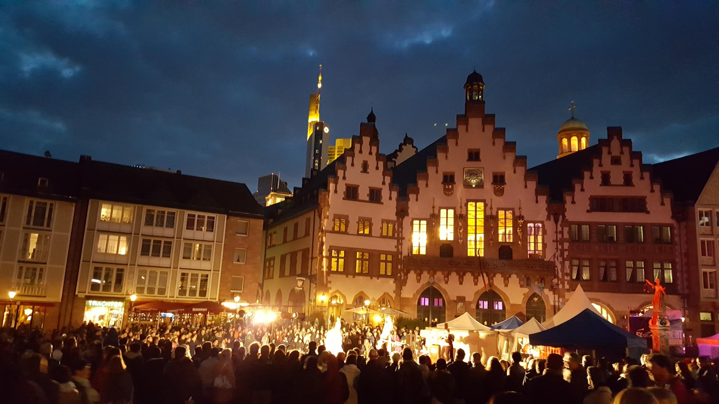 Frankfurt, Night at the Museum, April Big Things, Expat Living