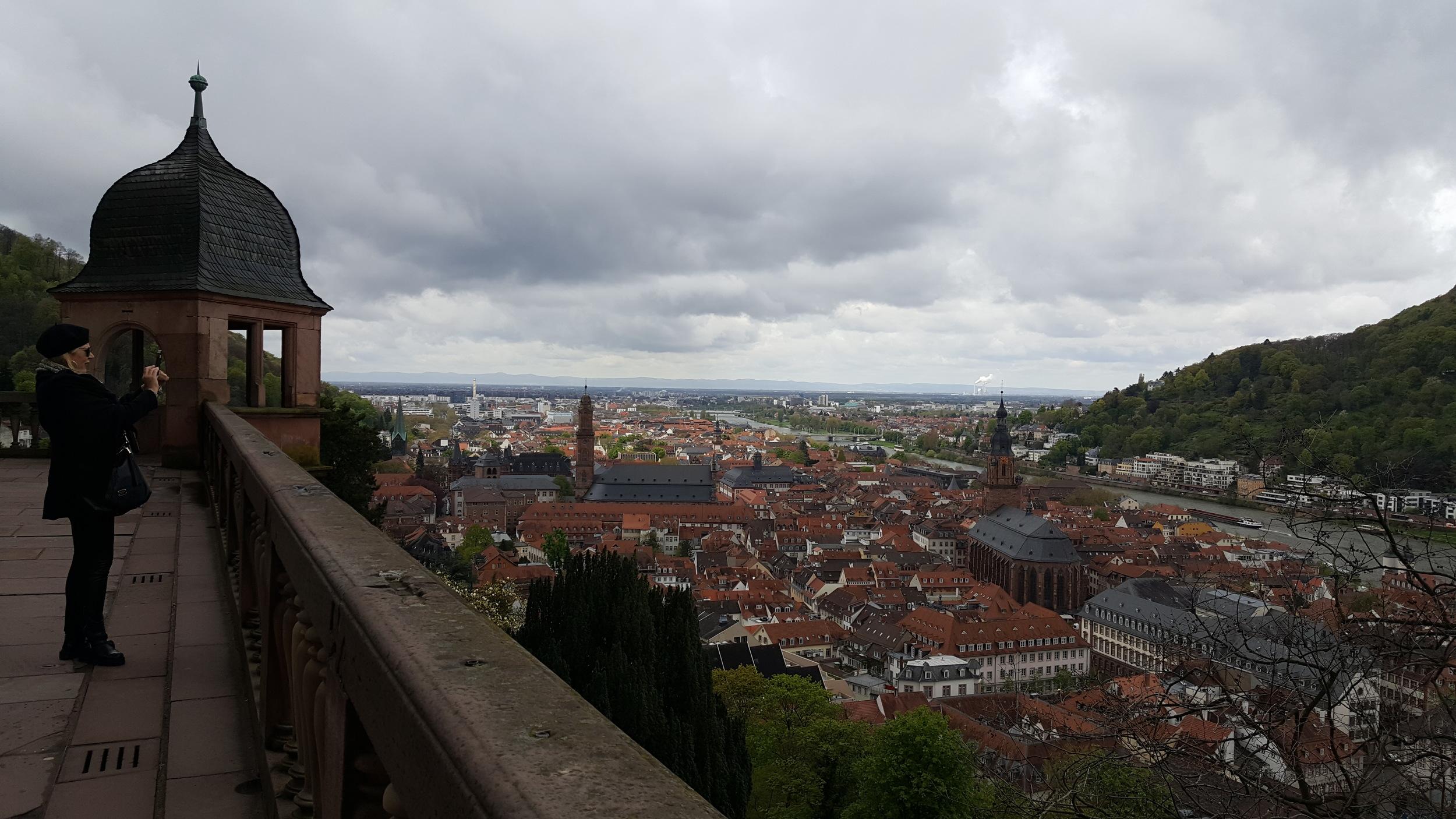 Heidelberg castle, April Big Things, Expat Living