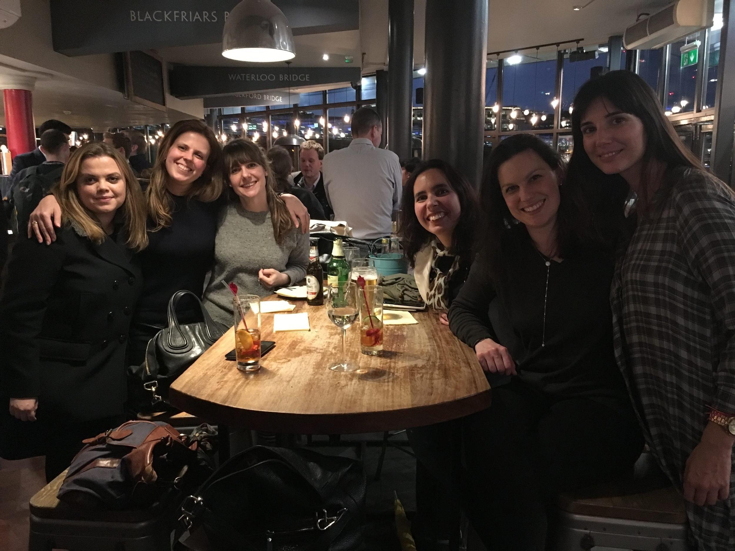 London Friends, April big things, expat living
