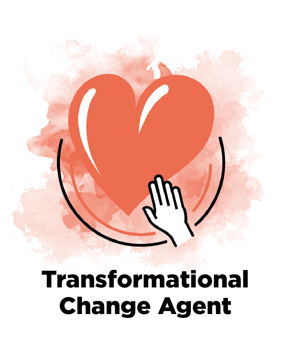 Transformational Change Agent  Leaders of change who have the ability to stimulate creativity and inspire others to work towards shared aspirations