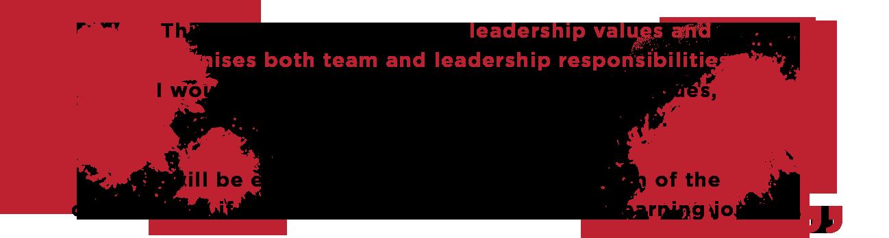 Real Leaders™ Tesitmony