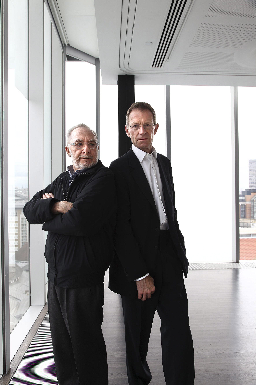 Gerhard Richter and Nicholas Serota