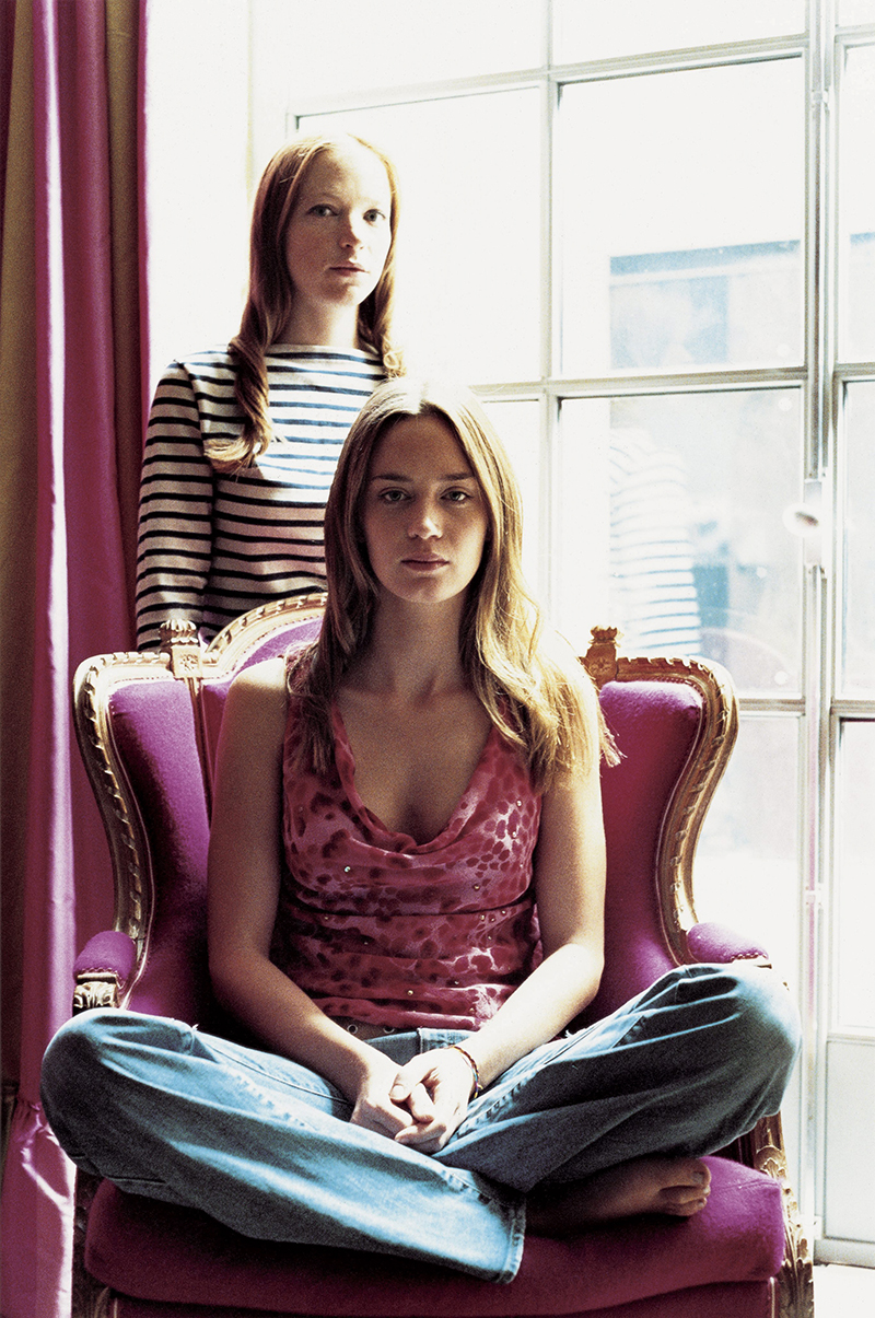Natalie Press and Emily Blunt