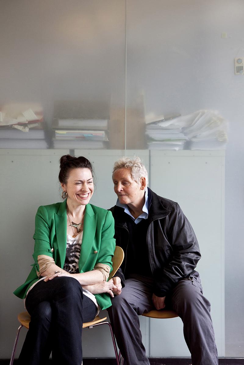 Stella Feehily and Max Stafford Clark