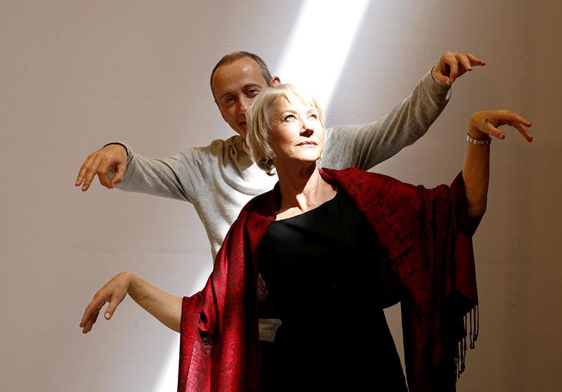 Helen Mirren, with Nicholas Hytner