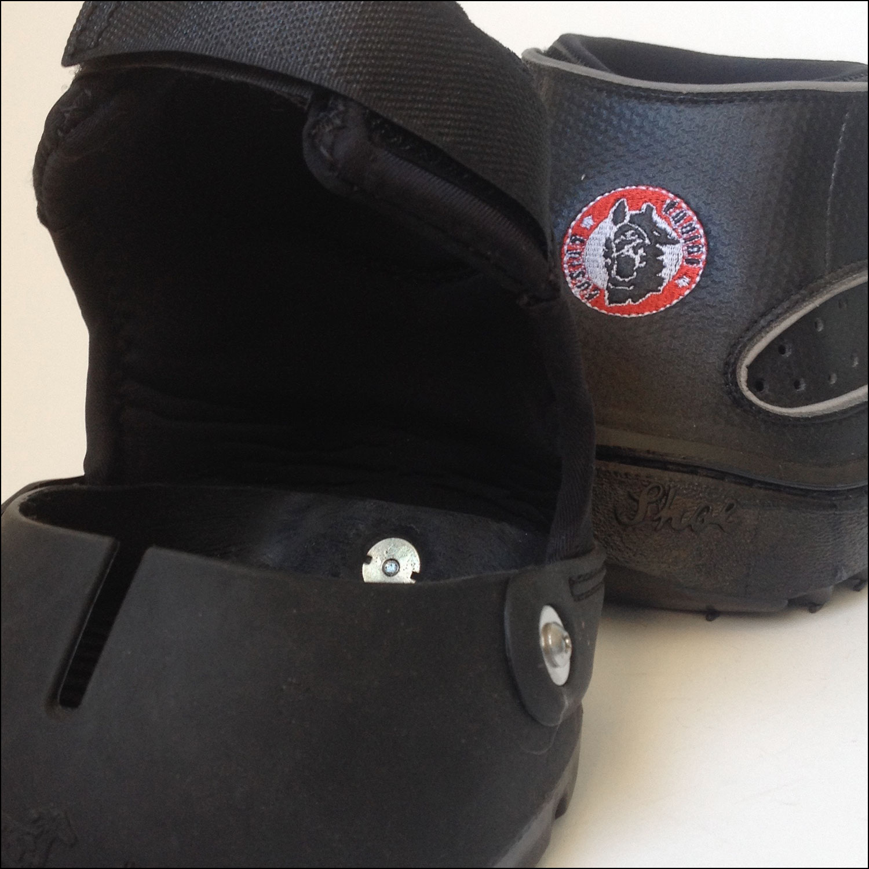 Vorder- und Hinterhufe verschiedene Schuhe