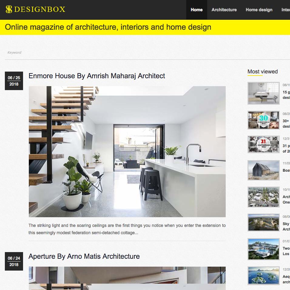 Enmore House / Design Box 88