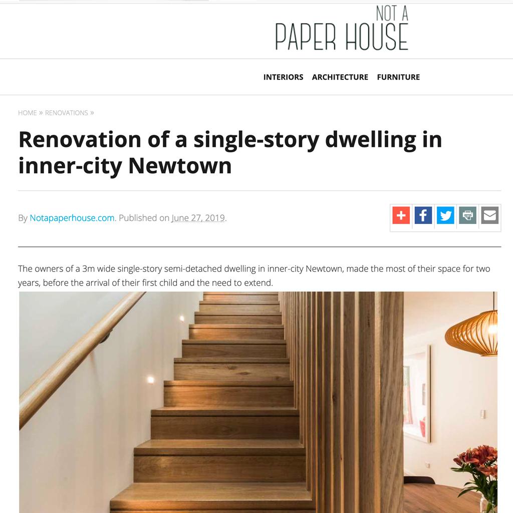 Muriel / Not a Paper House