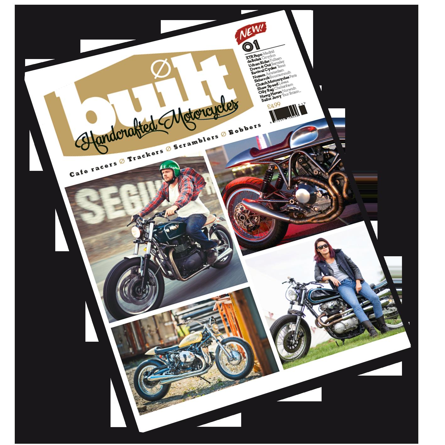 Built magazine issue 1