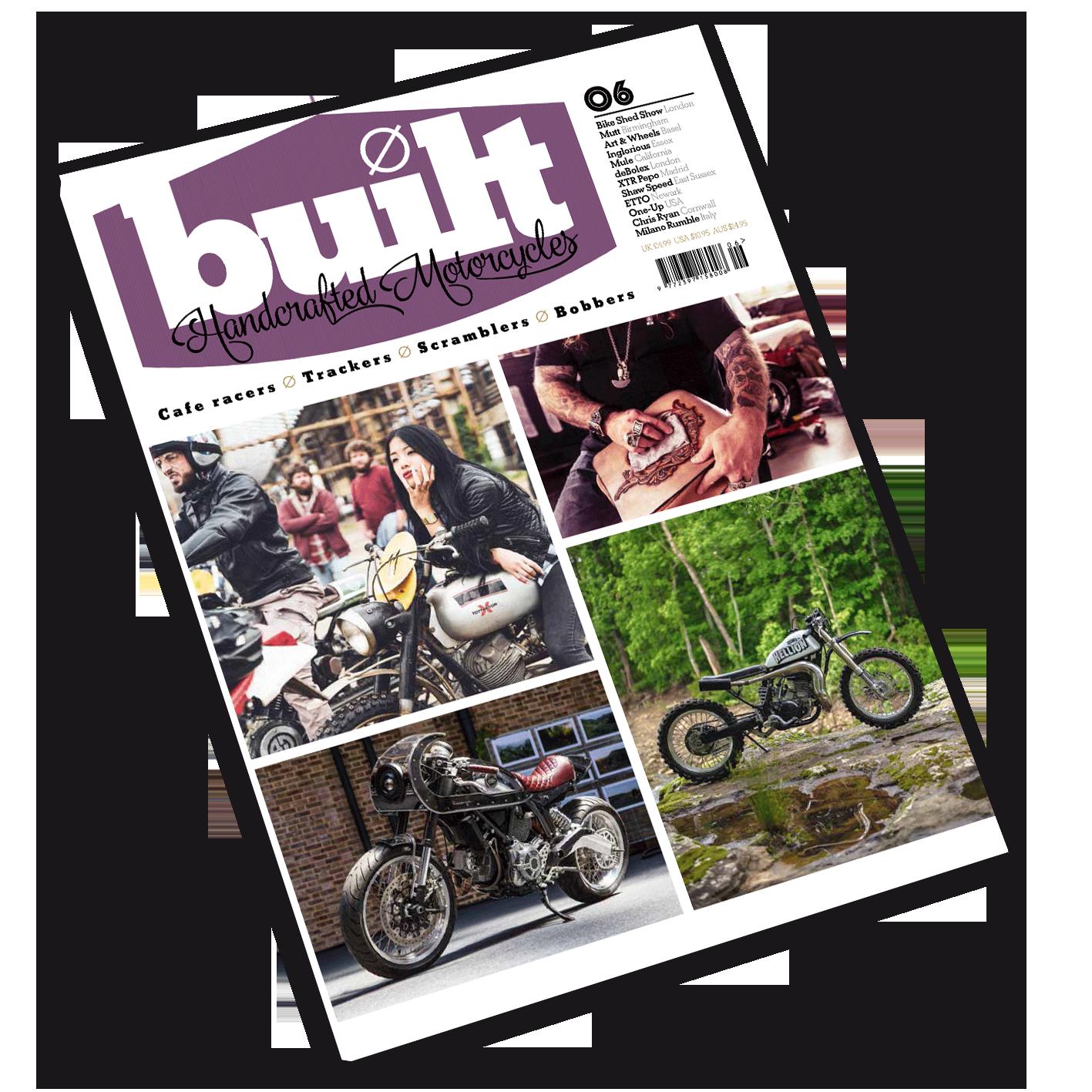 Built magazine issue 6