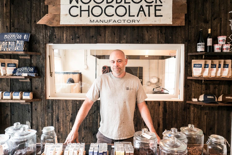Charley, the chocolatier from Portland, Oregon.
