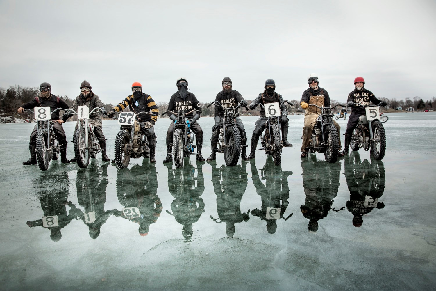The Frozen Few, Ice Racing in the USA
