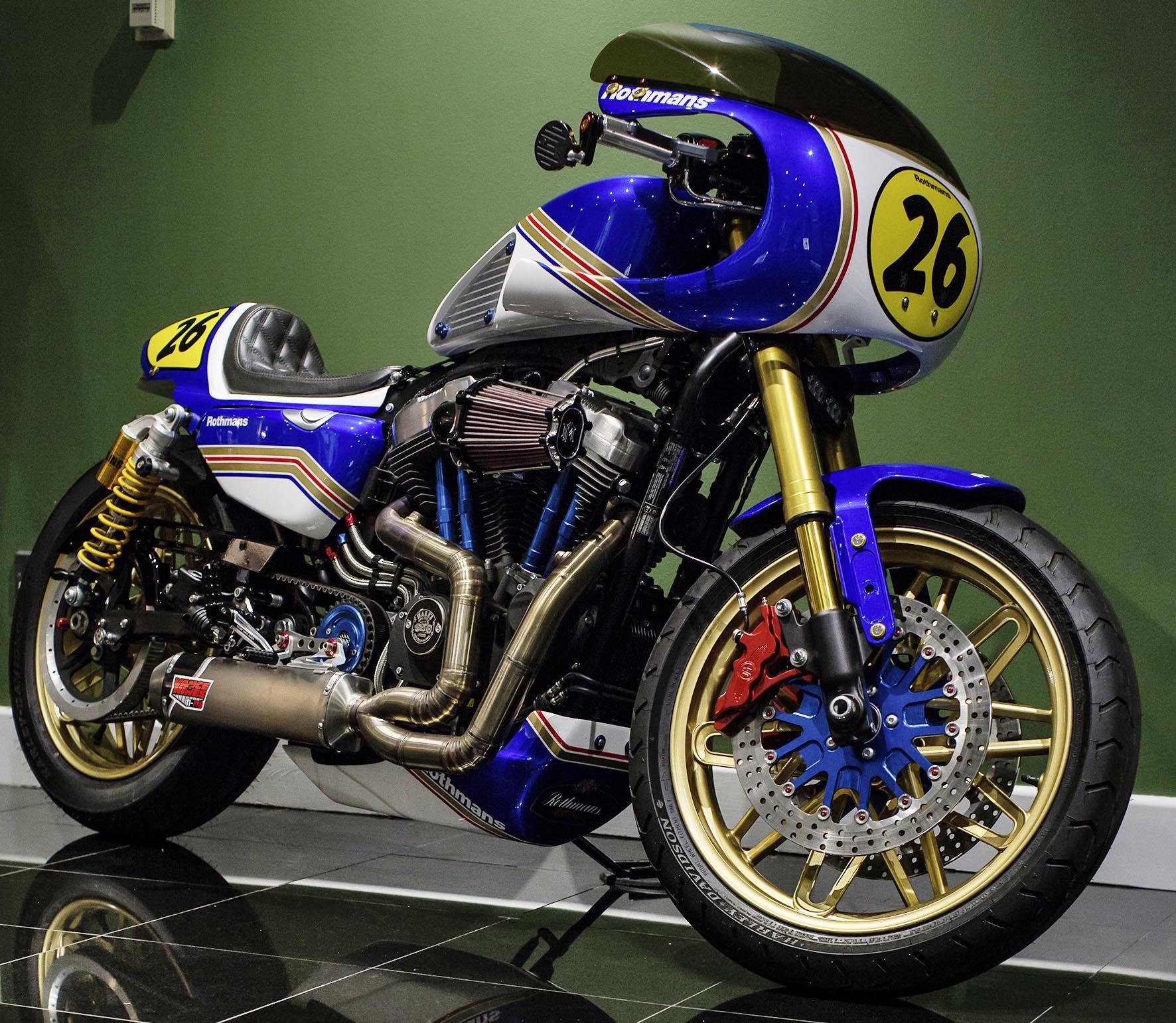 Rothmans Racer, Warrs Harley