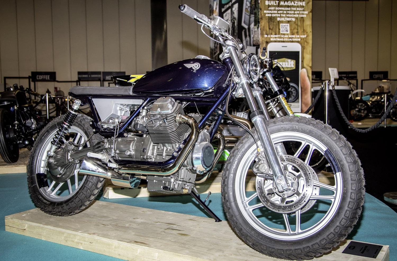 Foundry Motorcycle - Moto Guzzi V65