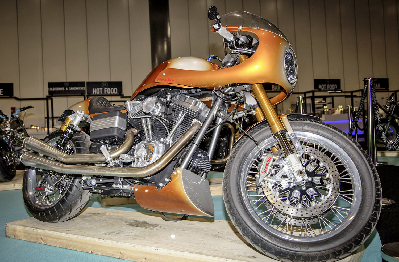Warr's Harley-Davidson - Jukebox Racer By Charlie Stockwell