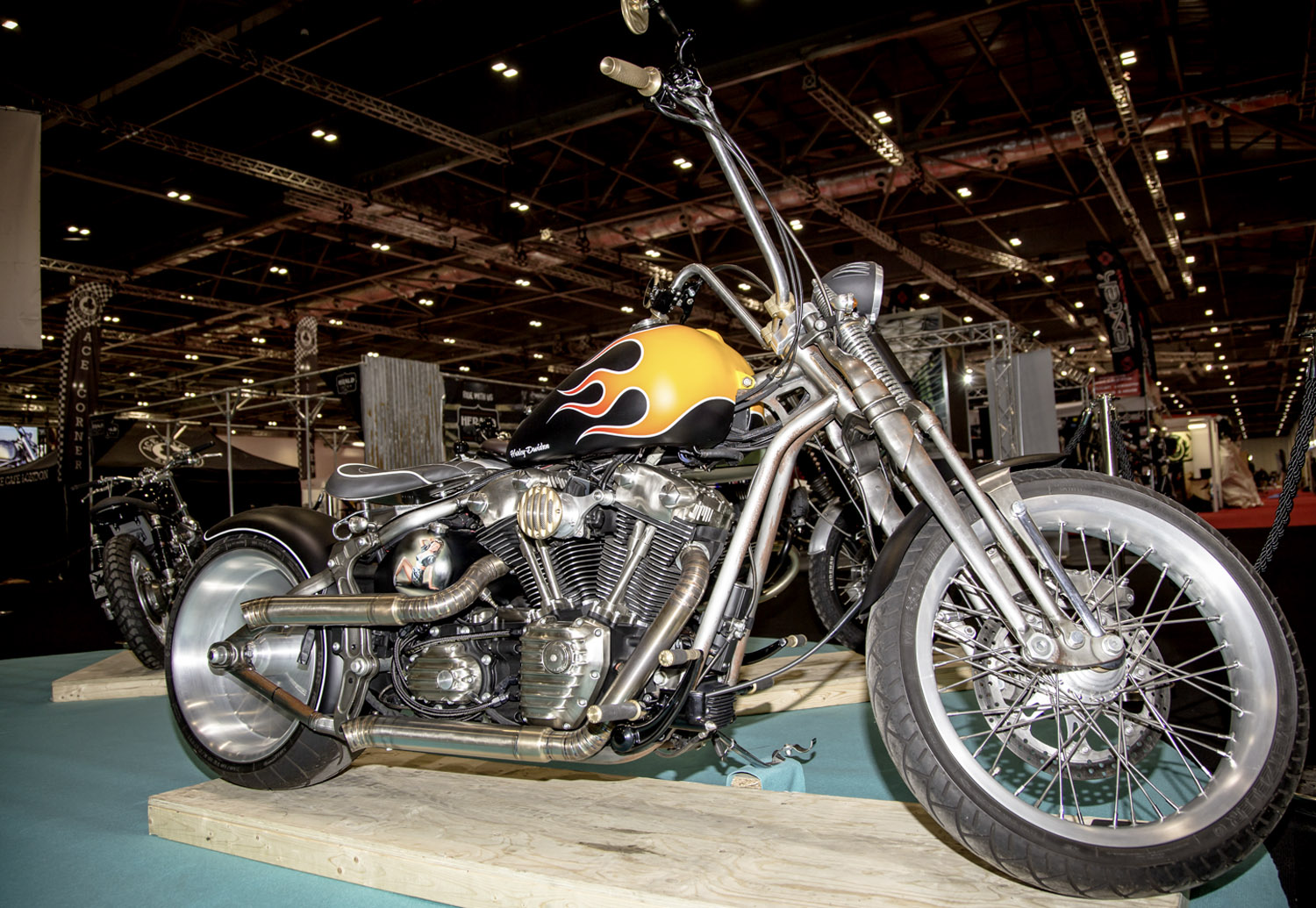 Warr's Harley-Davidson - Patti Breakout By Charlie Stockwell