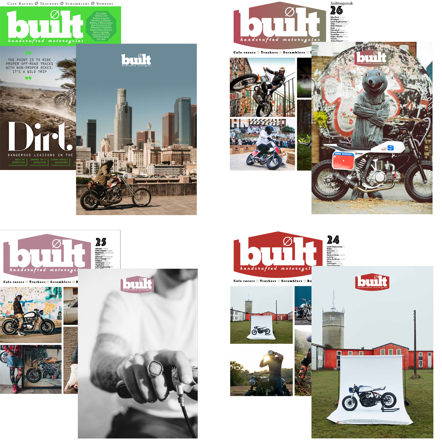 Exclusive Built magazine subscriber covers