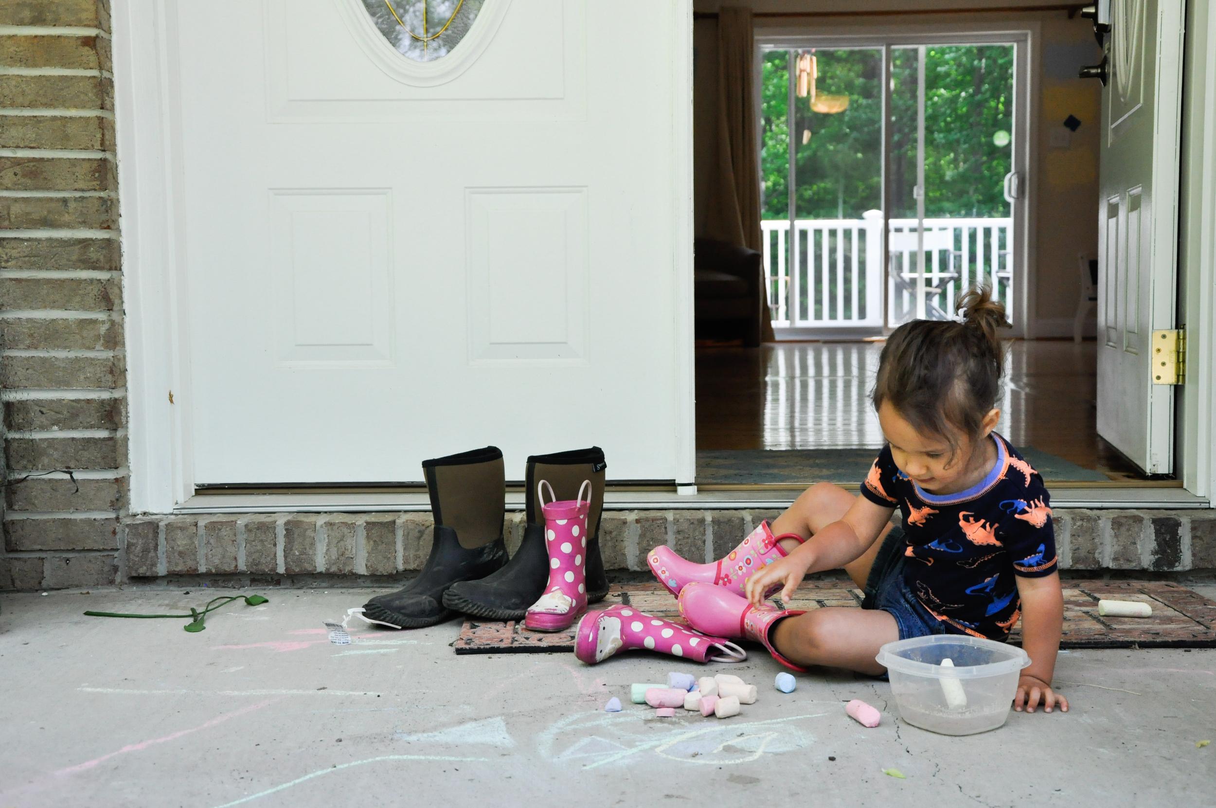 hazel and the chalk.jpg