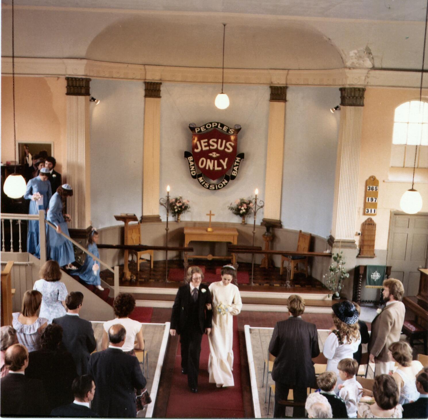 A wedding in the church