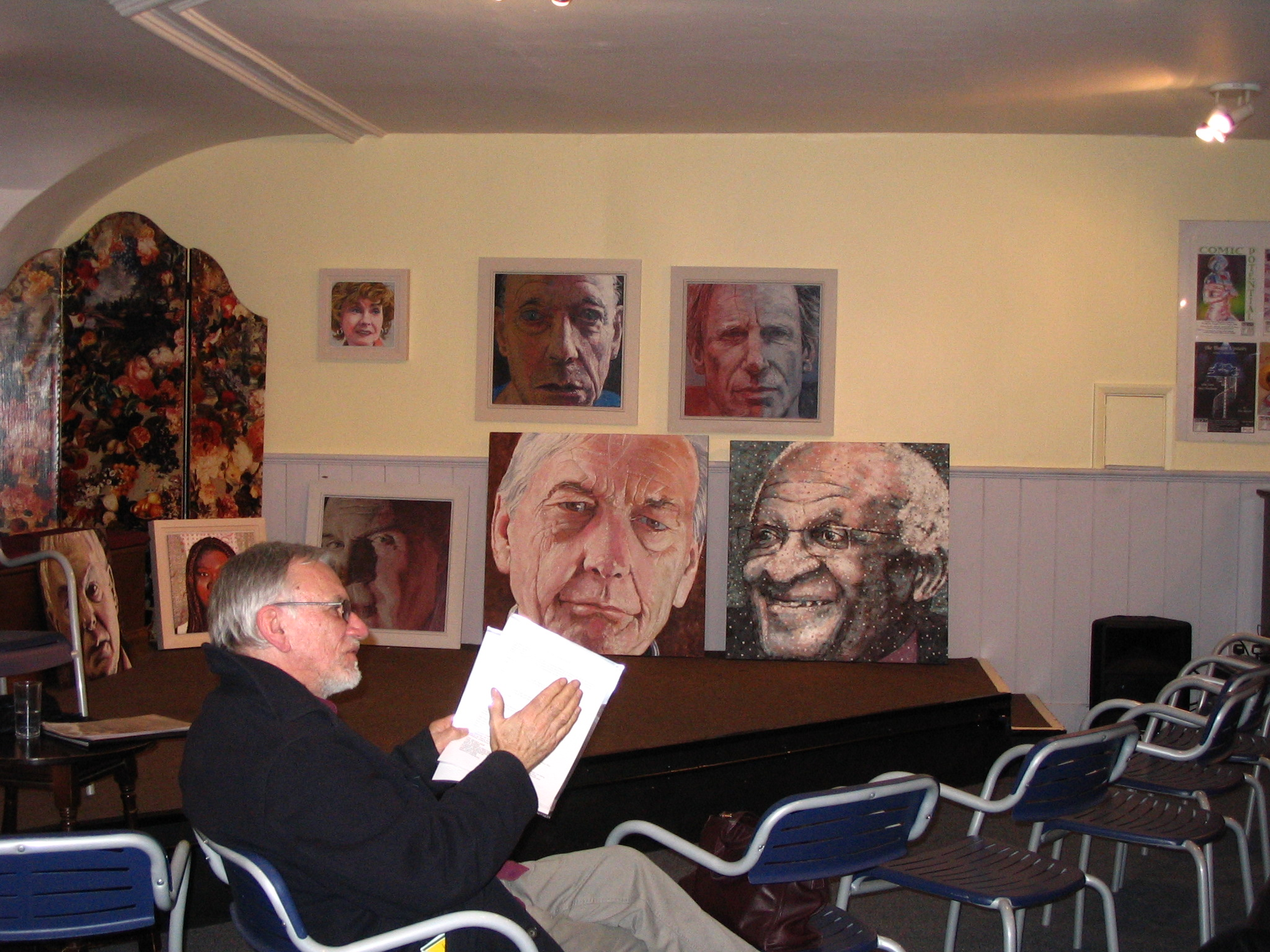 Artist Brian Elwell - Meetings with Remarkable People