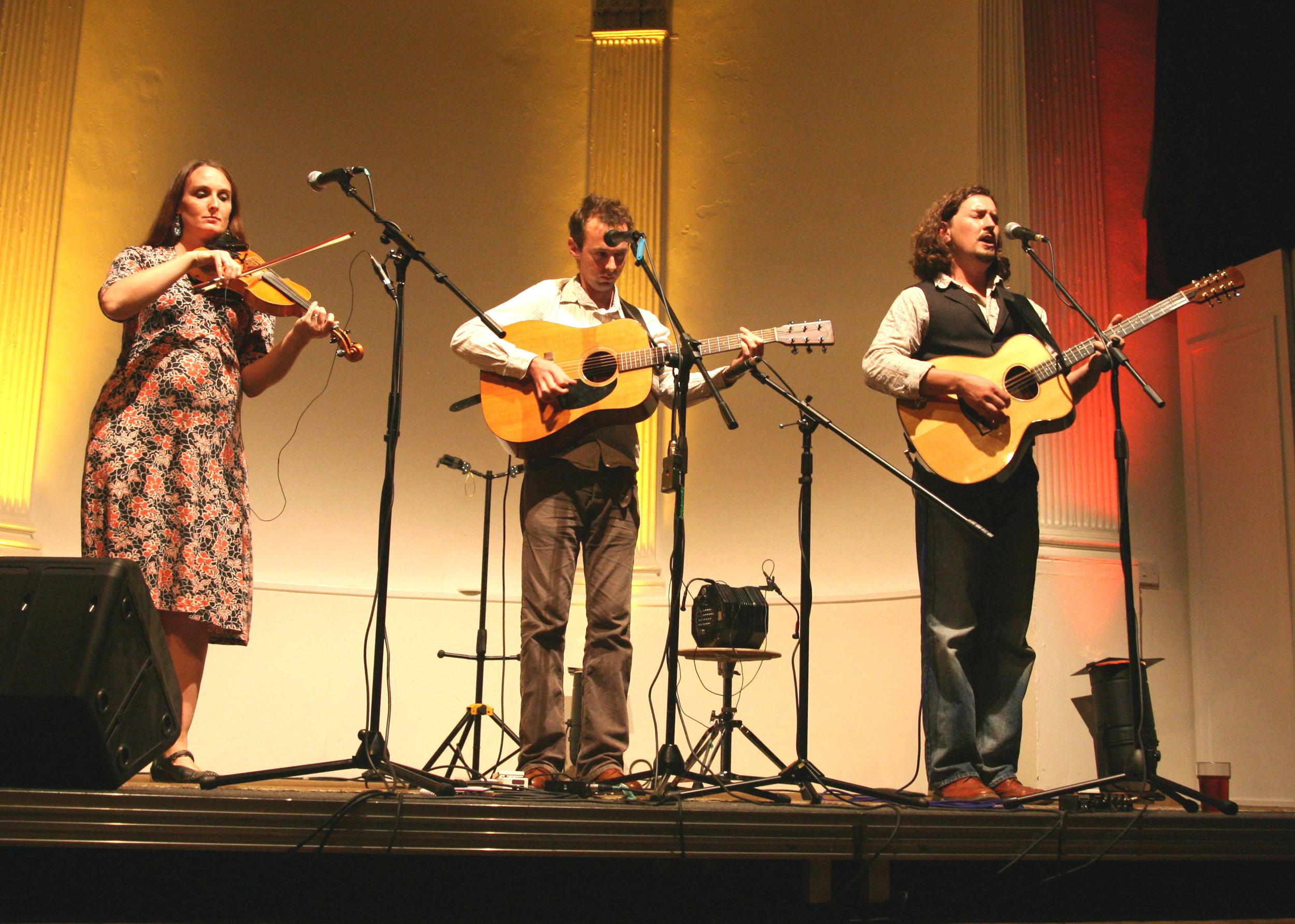 Nancy Kerr, James Fagan and Robert Habron