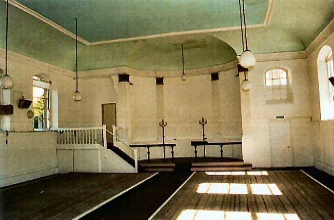 The old church altar