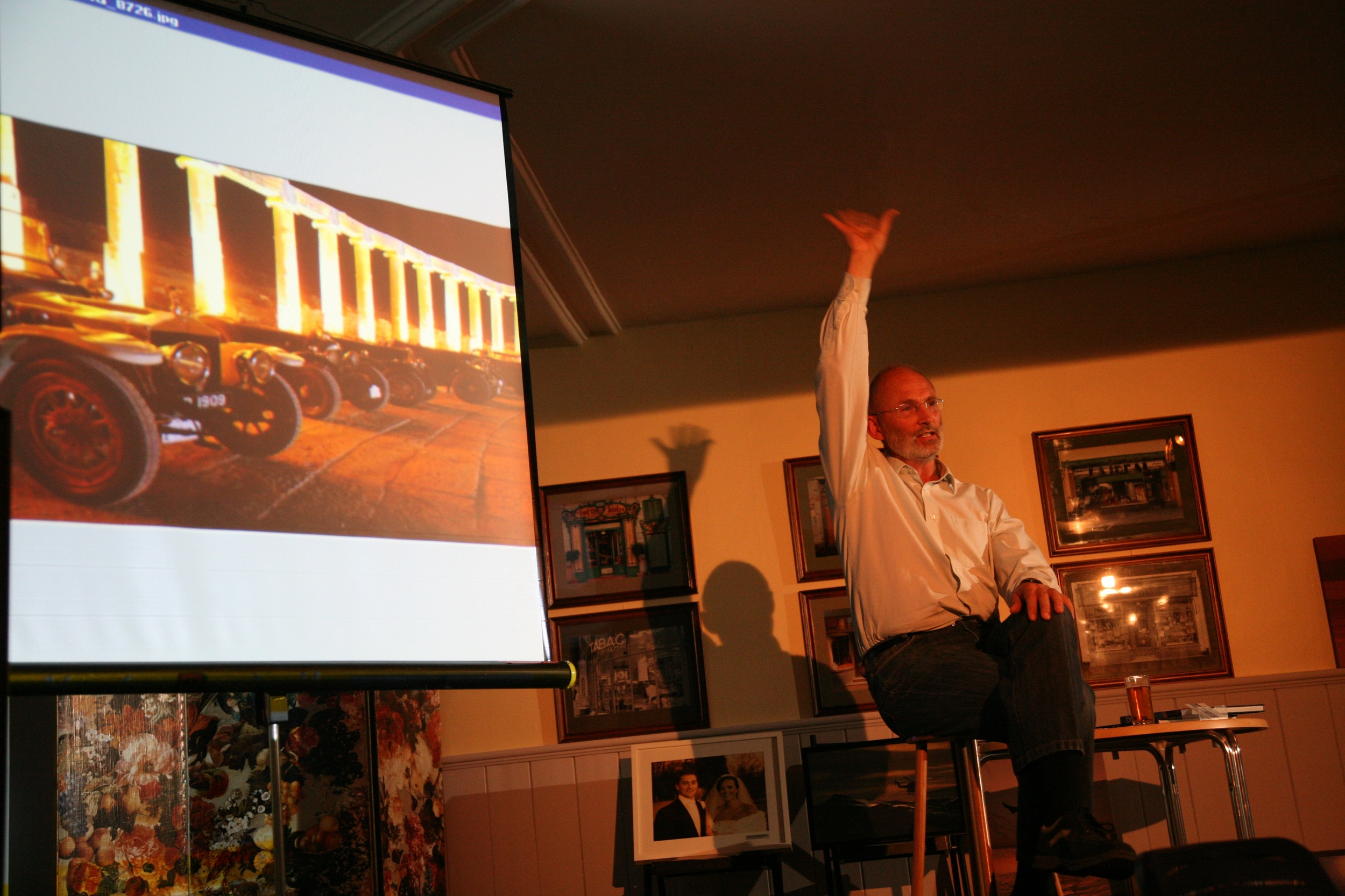 Dave Saunders - Photography talk