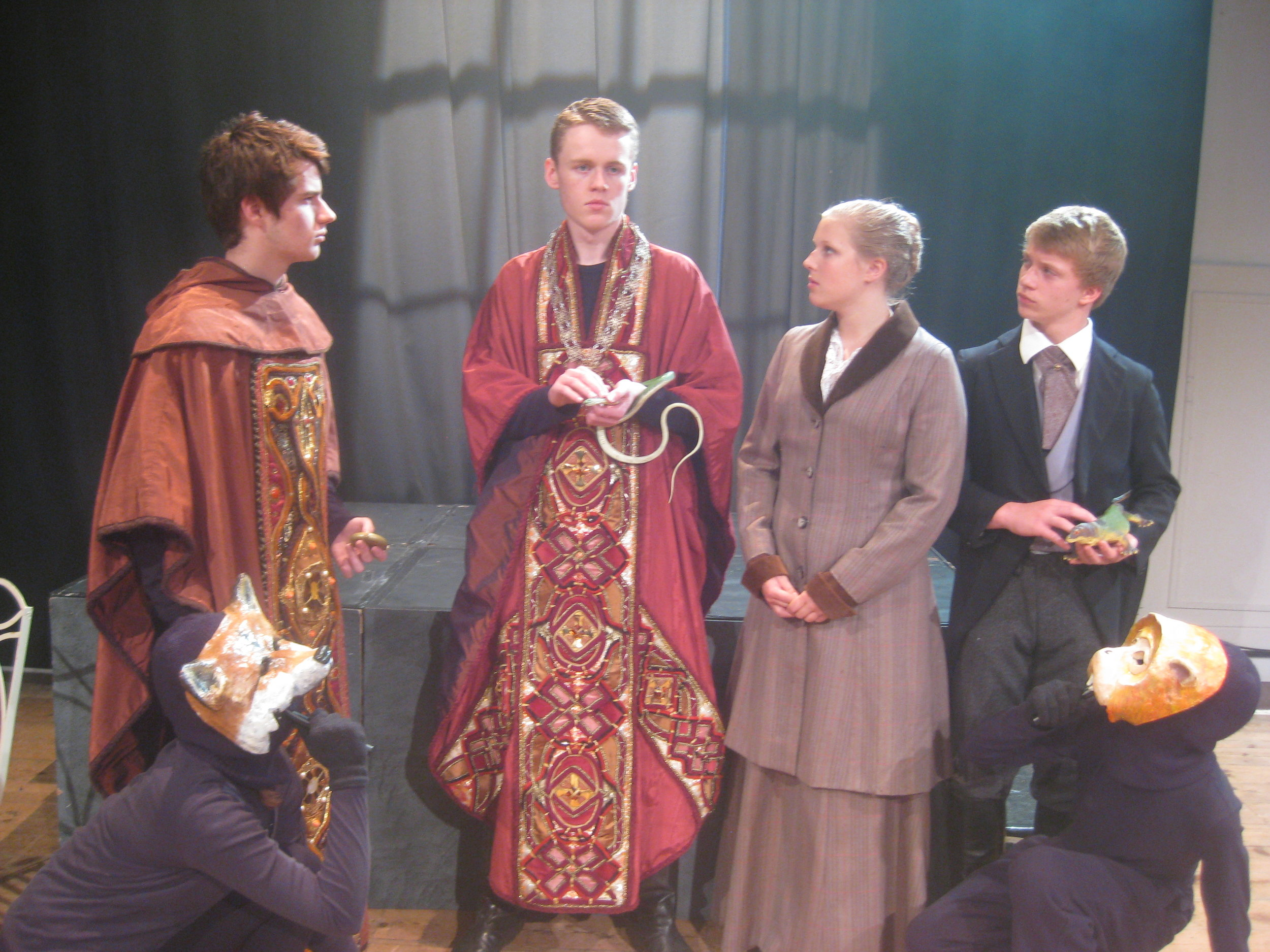 Next Stage Youth last performed  His Dark Materials  in 2012