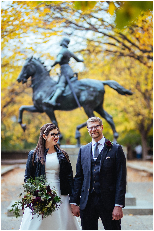 washington DC fall wedding
