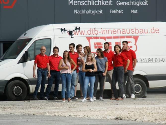 dtb recruiting spot - DTB Innenausbau