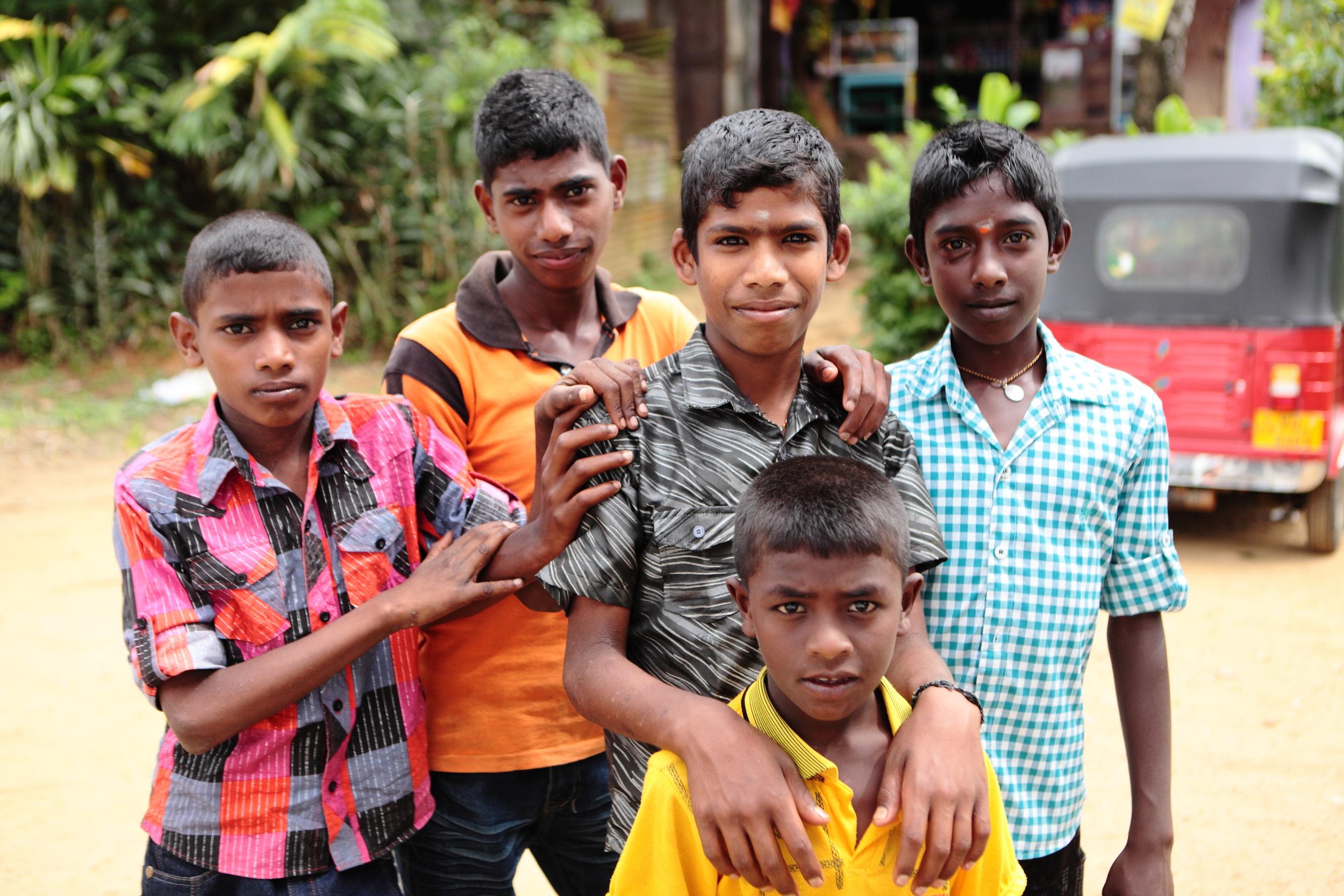 Children in Wadagoda