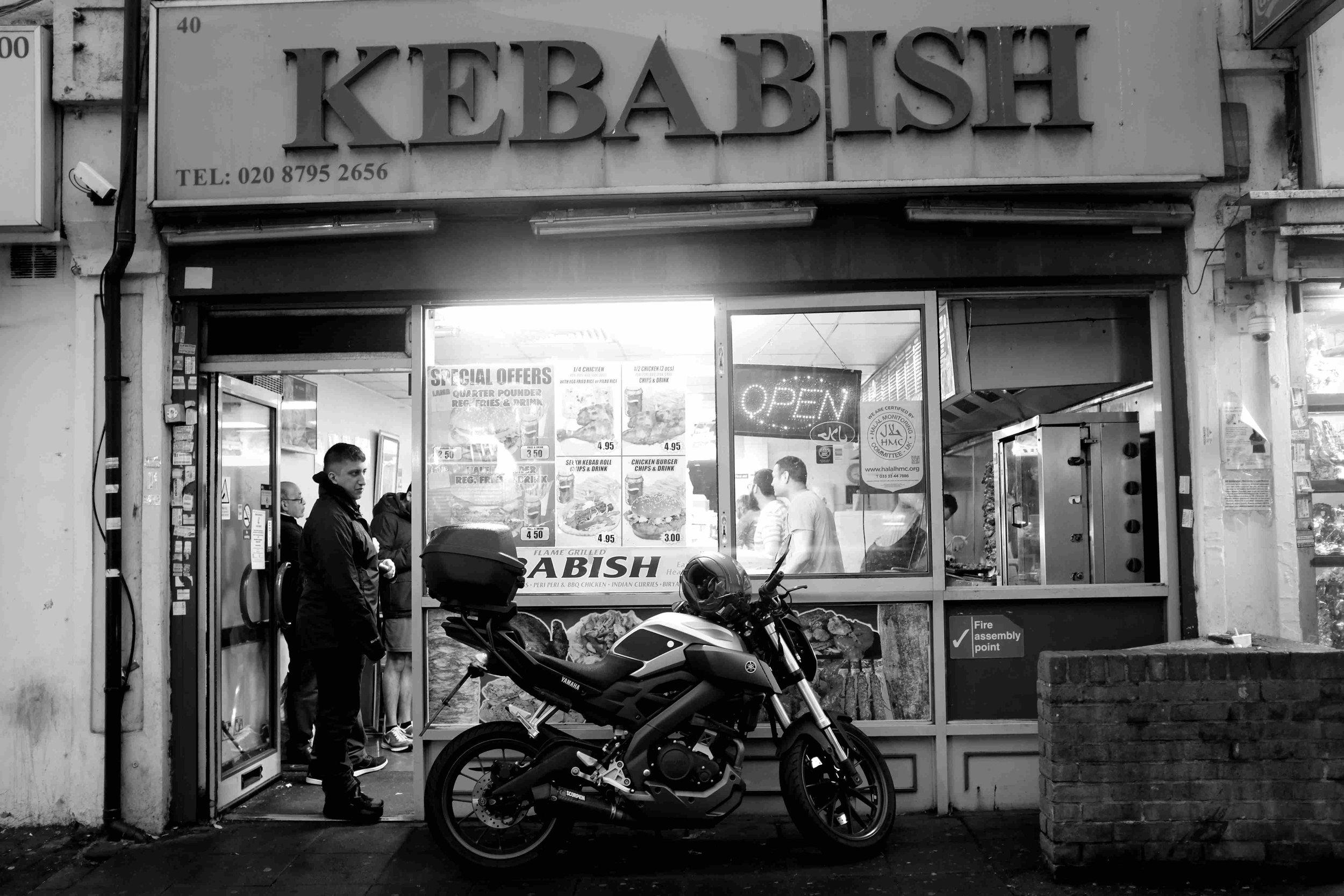 The popular Kebabish, Wembley