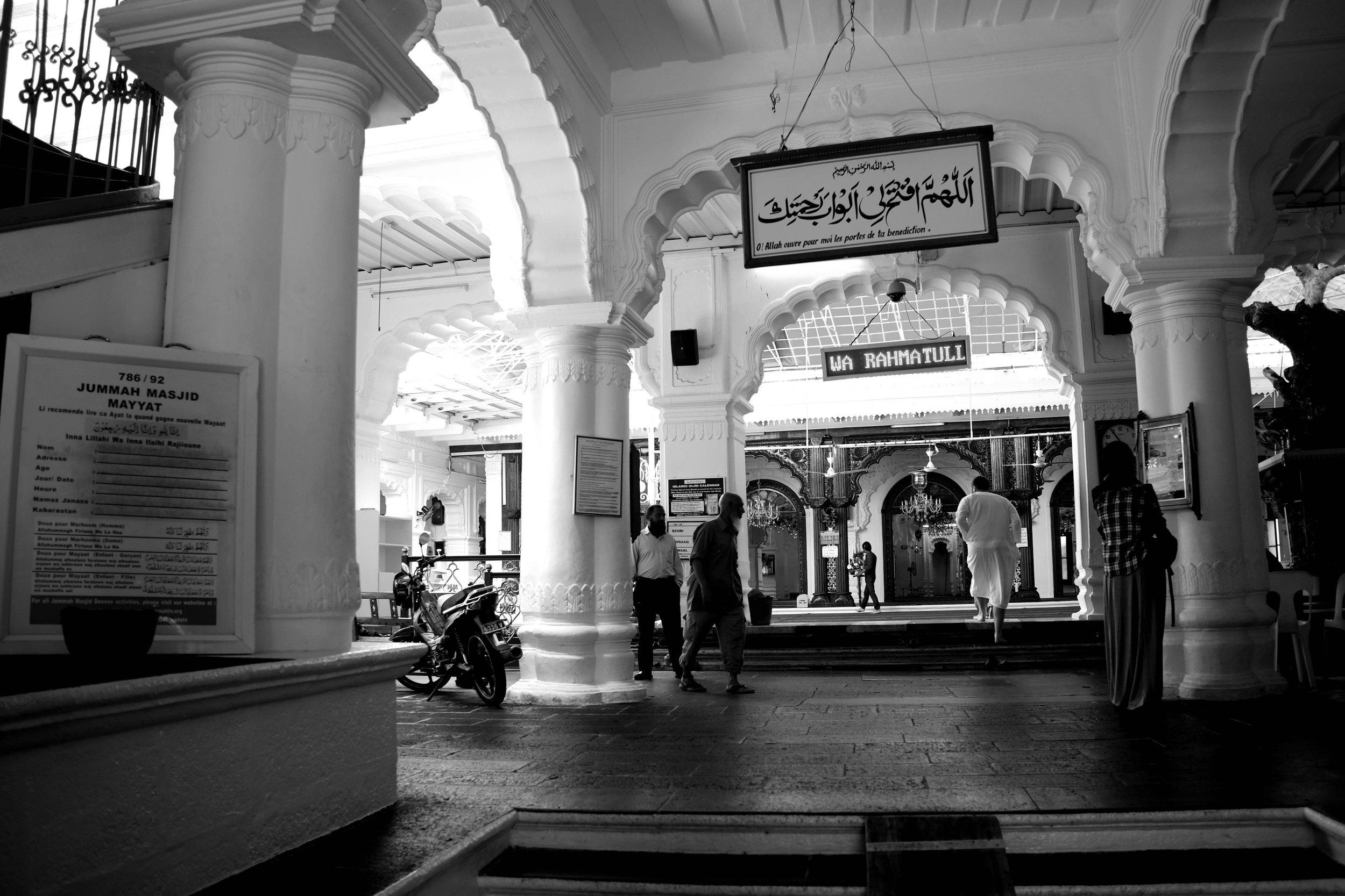 Sunni Masjid built by the Gujarati Muslim Traders
