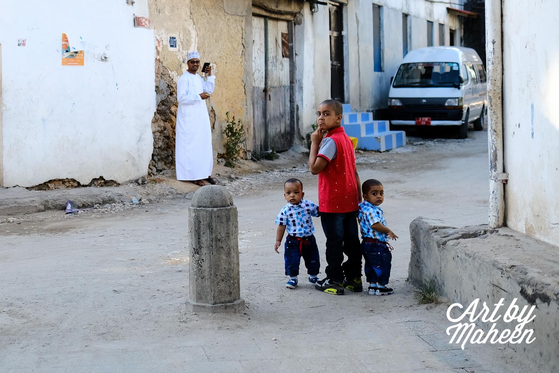 Omani Kids in their best for Eid Ul Hajj