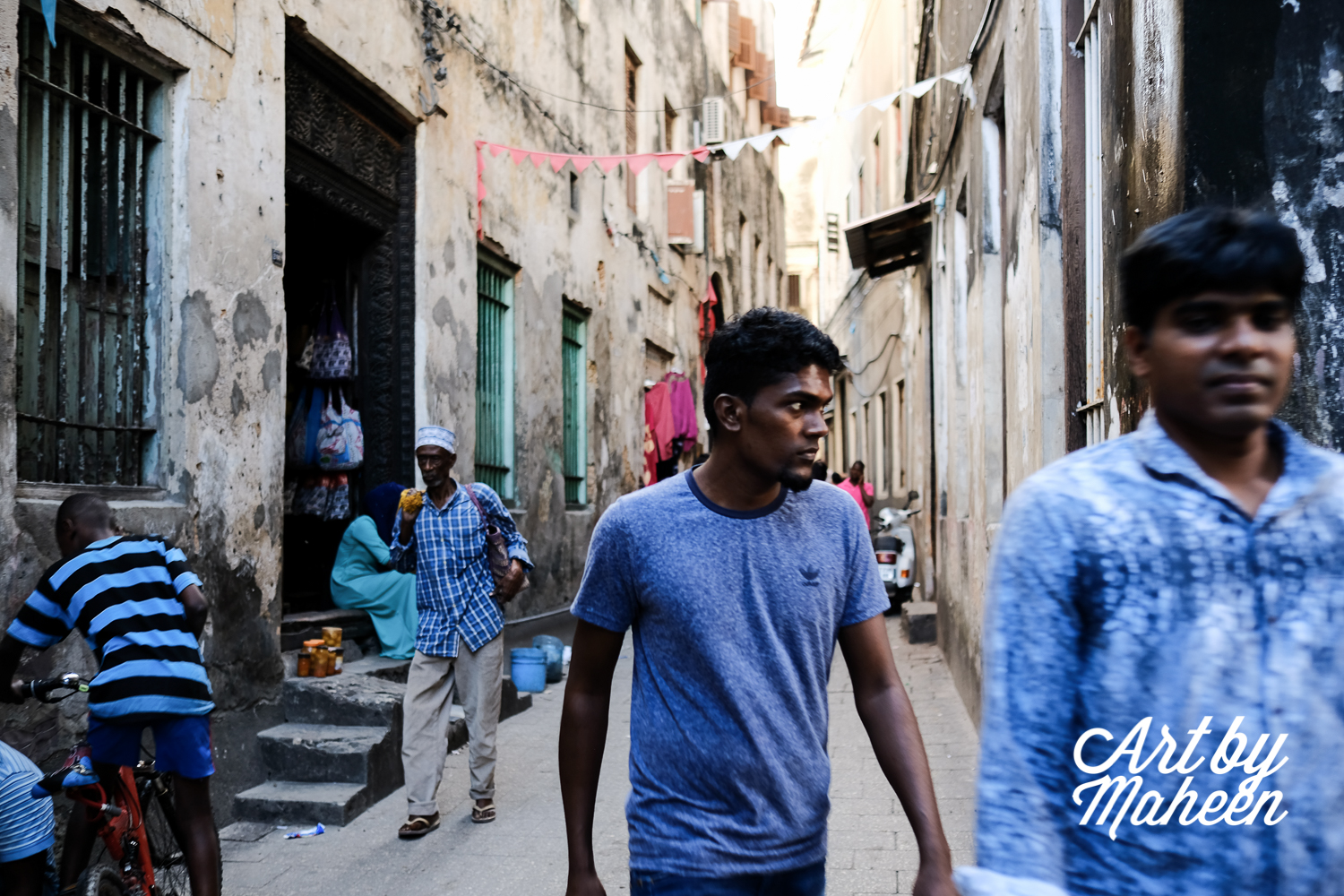 There is a massive mix of culture in Stone Town. Indians, Arabs and Swahilis live side by side despite their uncomfortable history.