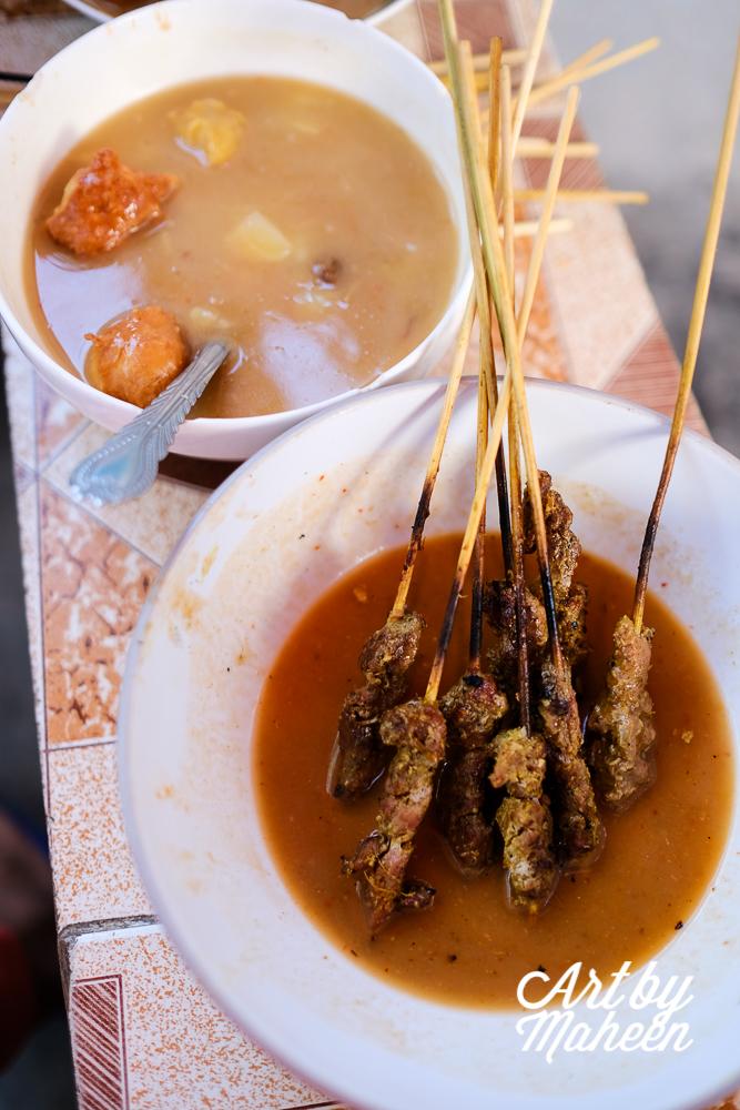 Urojo & Mishkaki - the staple street food of Stone Town