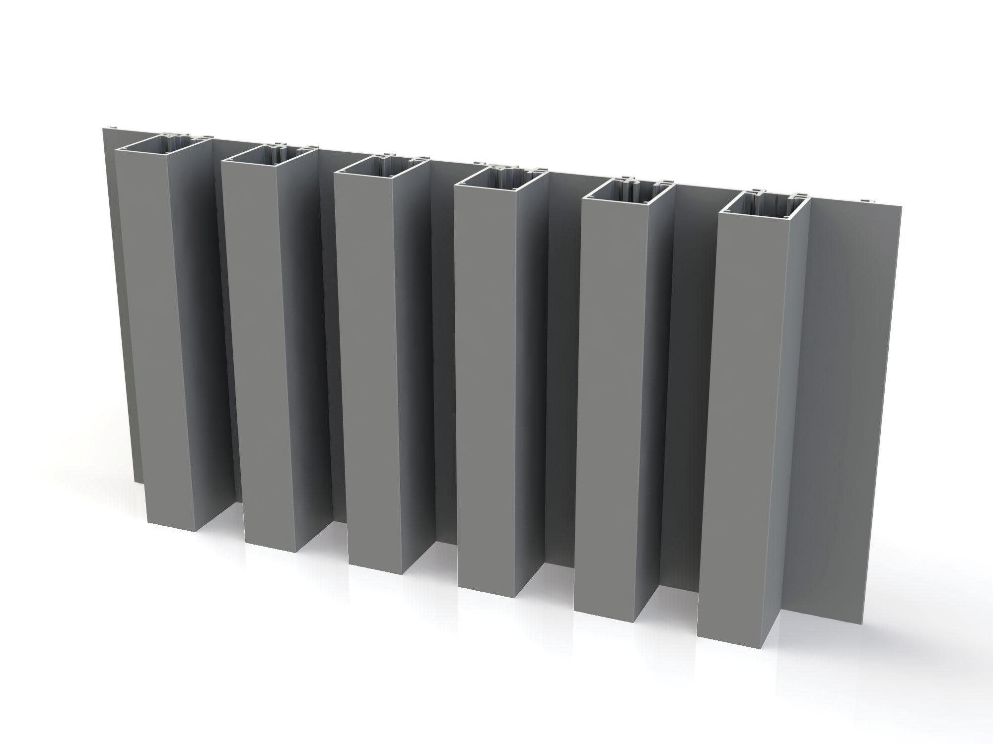 Mato 2 aluminium gevelbekleding