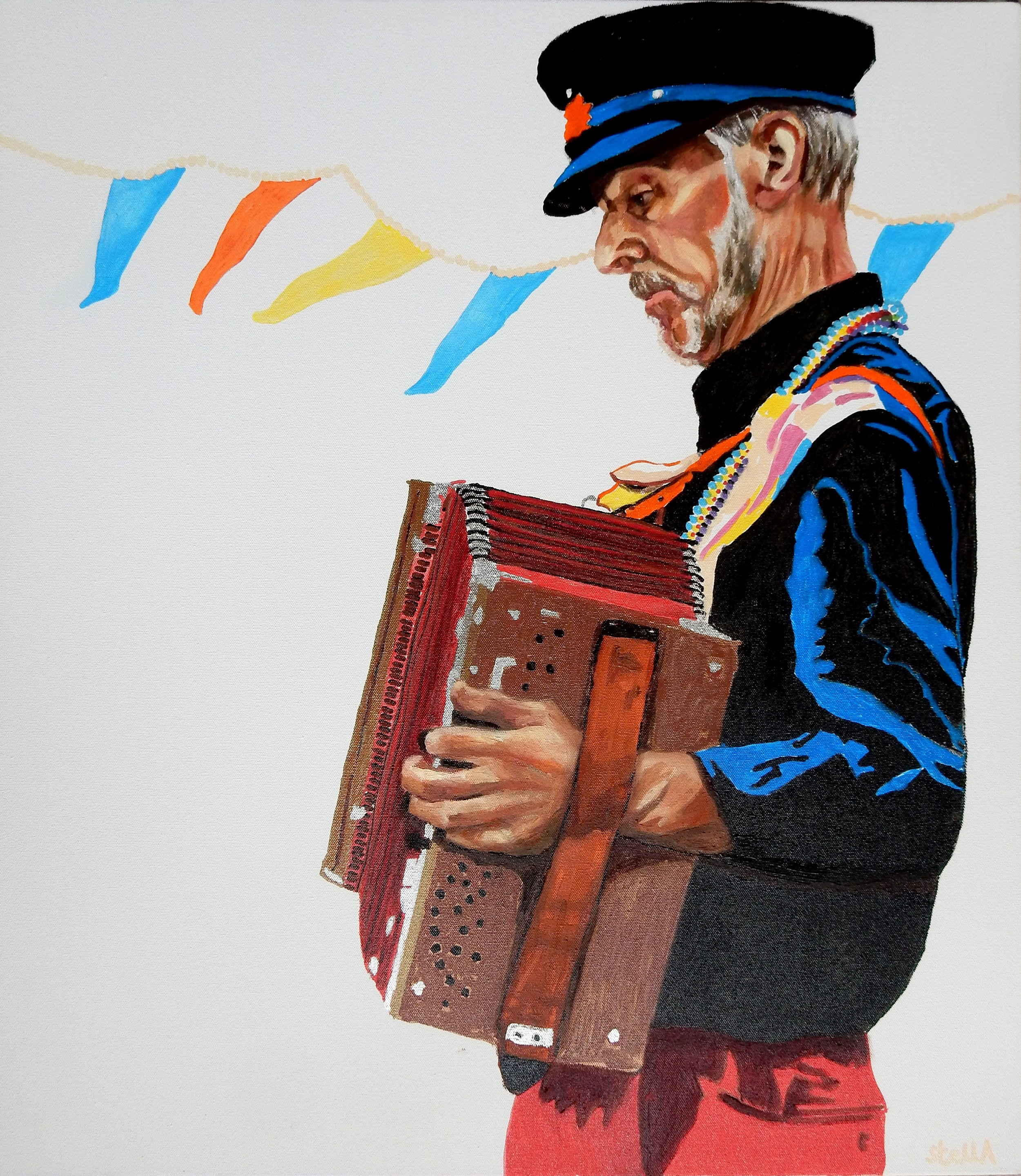 Accordionist - Leigh on Sea Folk Festival