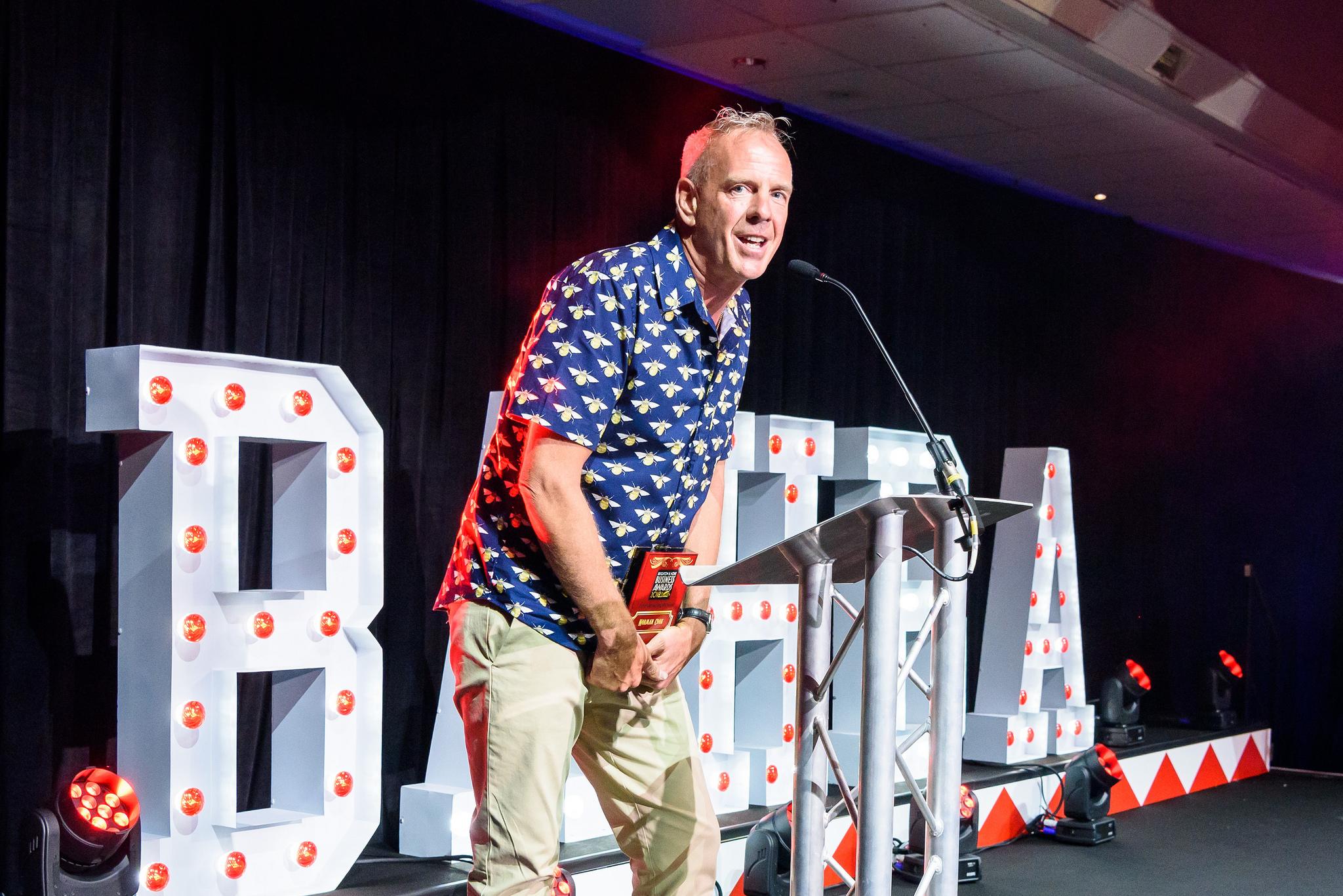 Norman Cook - Winner Outstanding Brightonian BAHBA 2018
