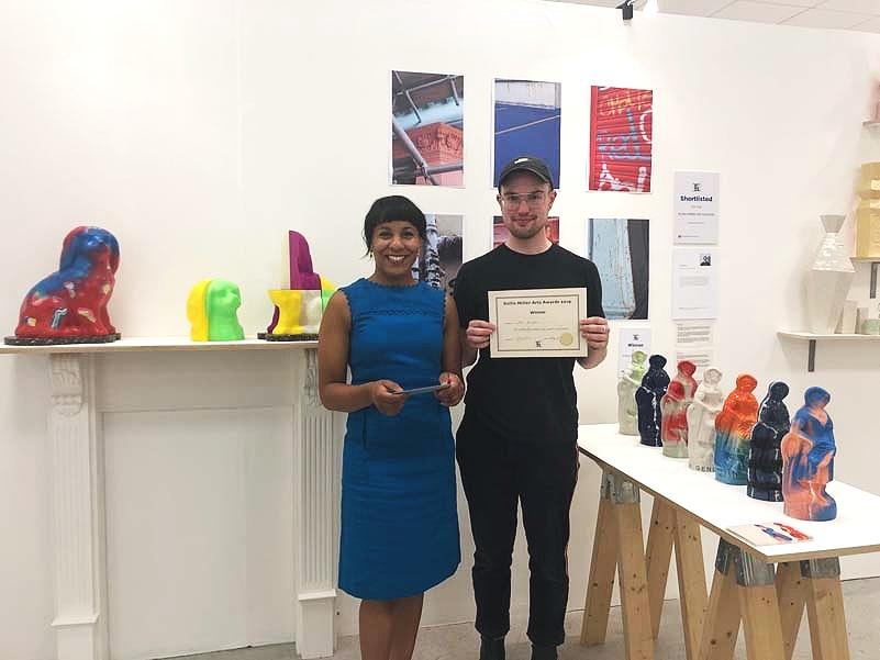 Kellie Miller and Joe Bulman BA, University of Brighton : winner