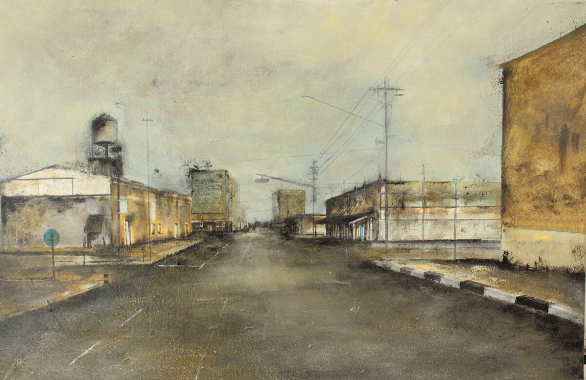 Marco Minozzi : Arizona empty street