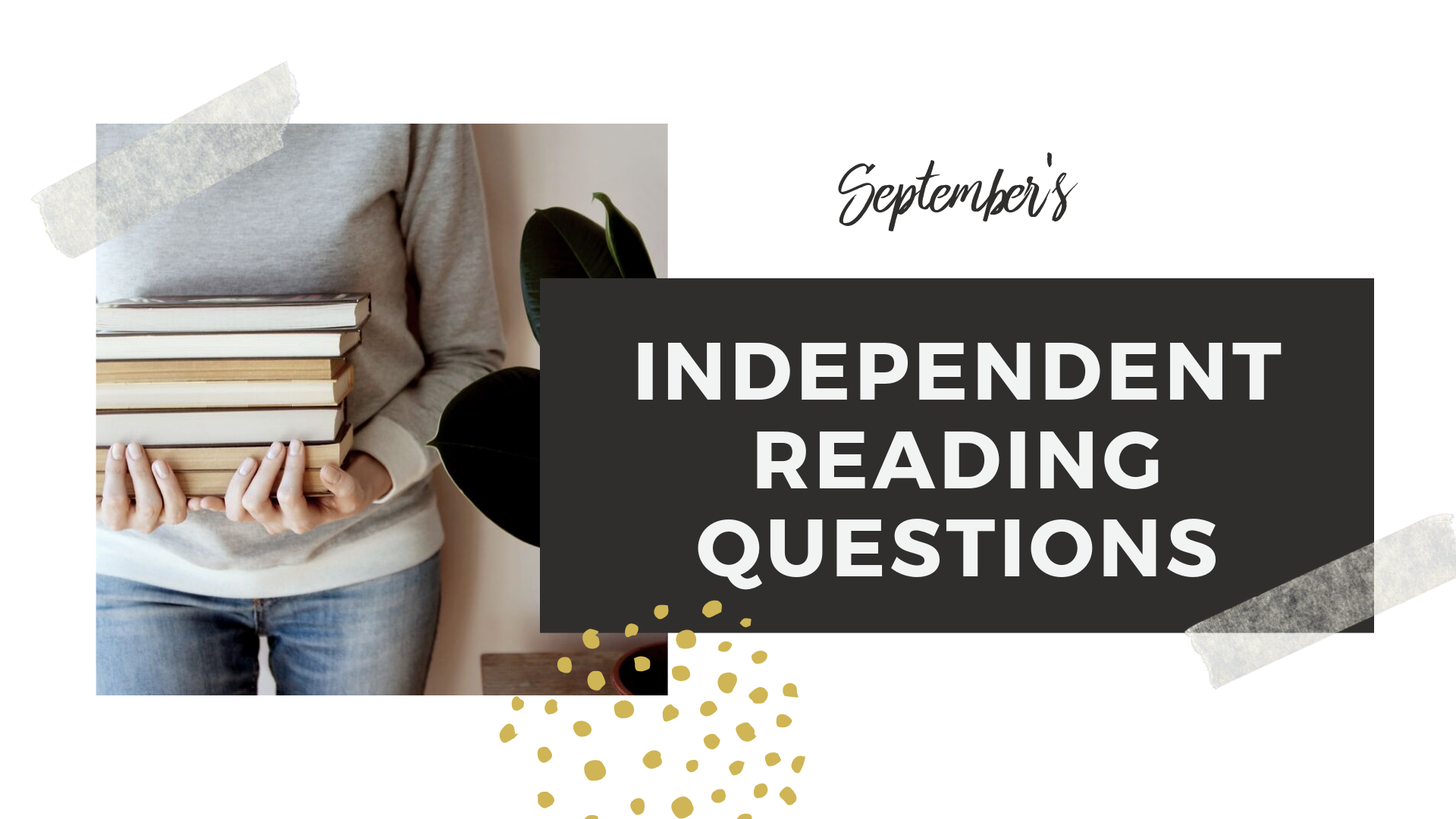 Bi-Monthly questions - On the 1st & 3rd Fridays of the month, we gather in small book groups to discuss novels. Our questions look similar to this every month.