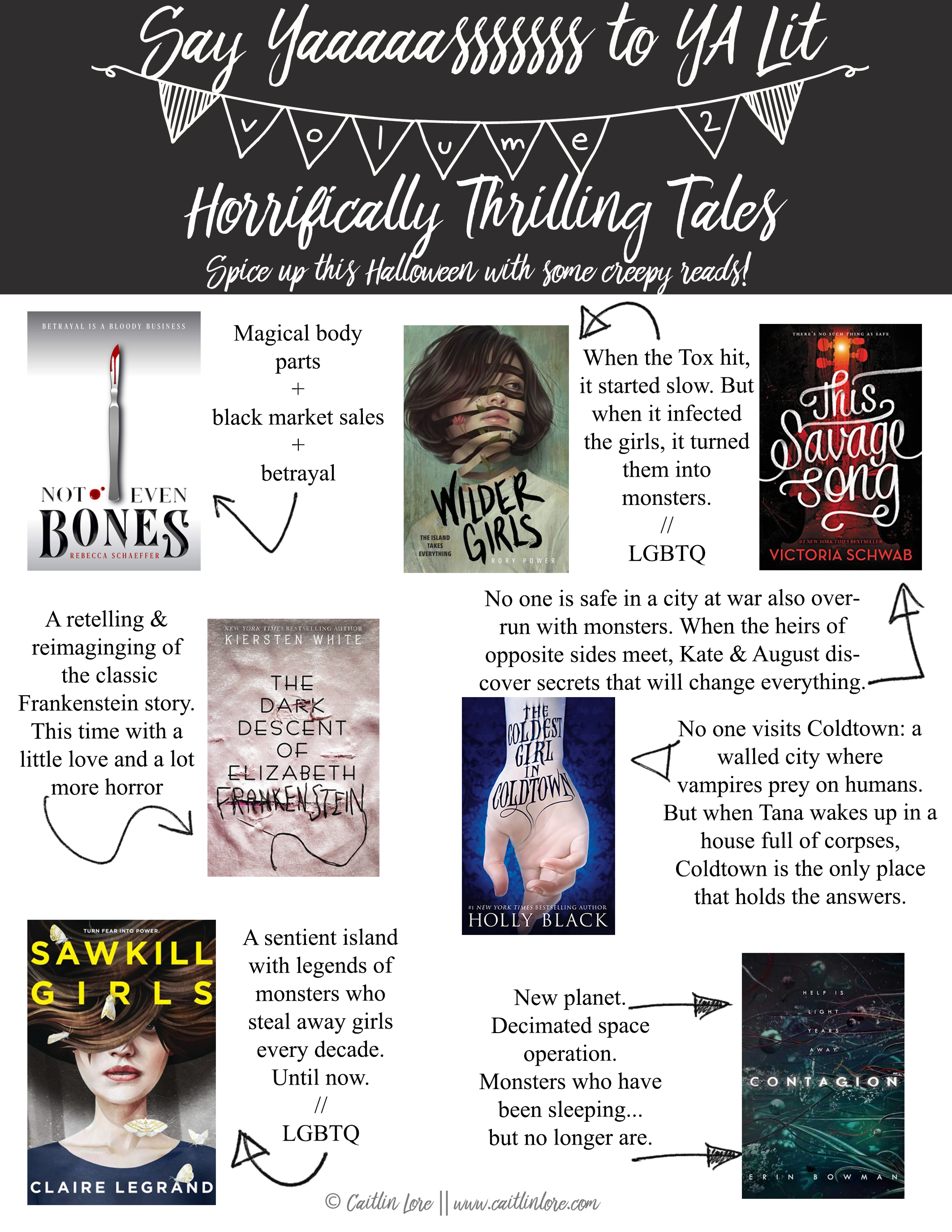 Paranormal YA - Need a book recommendation for October? Try one of these YA reads!